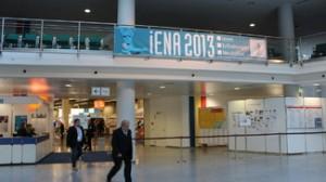 Eingang zur iENA 2013 (c) poltecNathanael Meyer