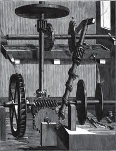 Perpetuum Mobile erster Art - Das Wasserrad